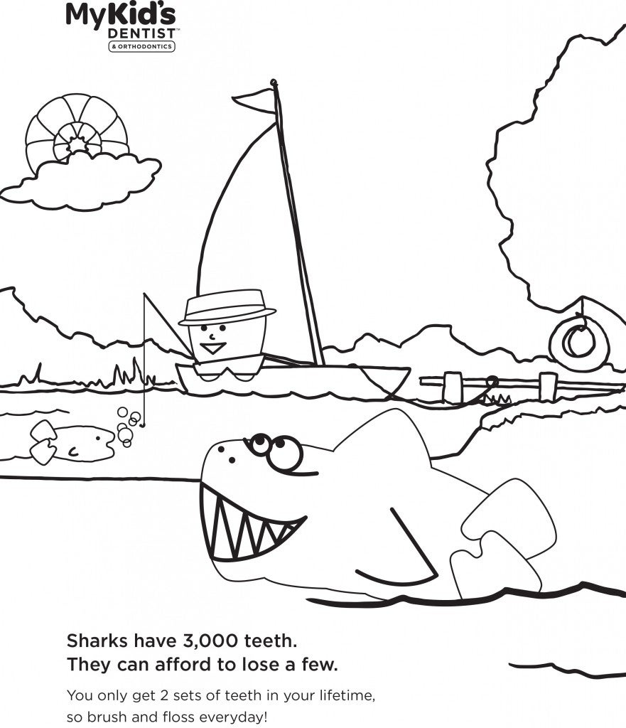 You can also print these sheets as pdfs childrens dental health month coloring sheets